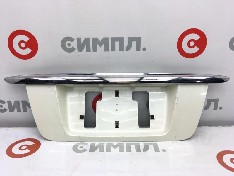 Рамка для крепления номера Honda Odyssey RA6 F23A 2000 задняя Дефект креплений (см. фото) На  (б/у)