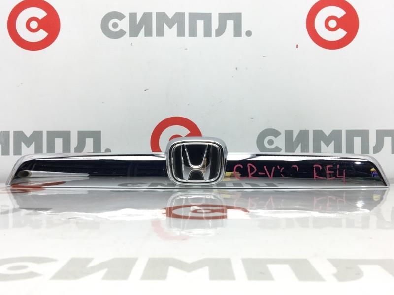 Накладка на дверь багажника Honda Cr-V RE3 K24A 2008 (б/у)