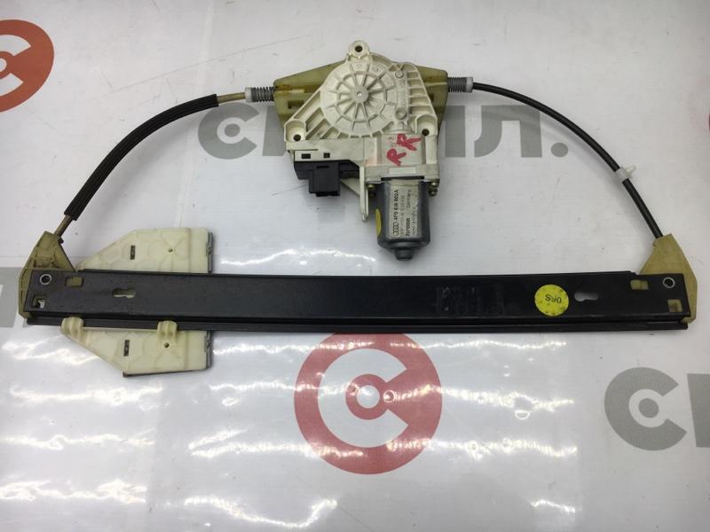 Стеклоподъемный механизм Audi A6 4F2 AUK 2004 задний правый (б/у)