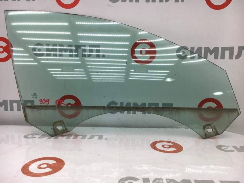 Стекло боковое Audi A6 4F2 AUK 2004 переднее правое (б/у)