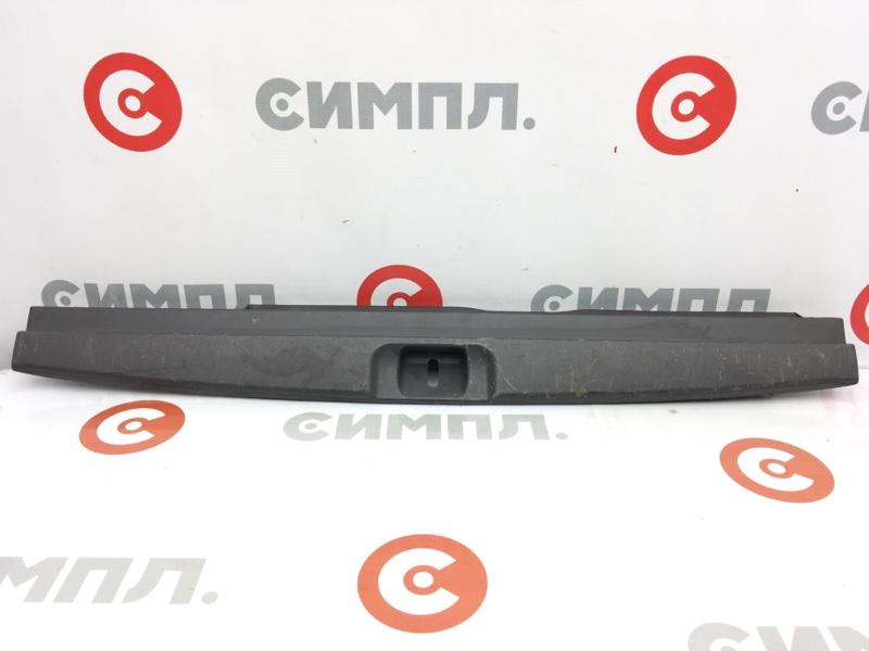 Панель замка багажника Subaru Legacy BH5 EJ20 2001 задний Дефект креплений (см. фото) (б/у)