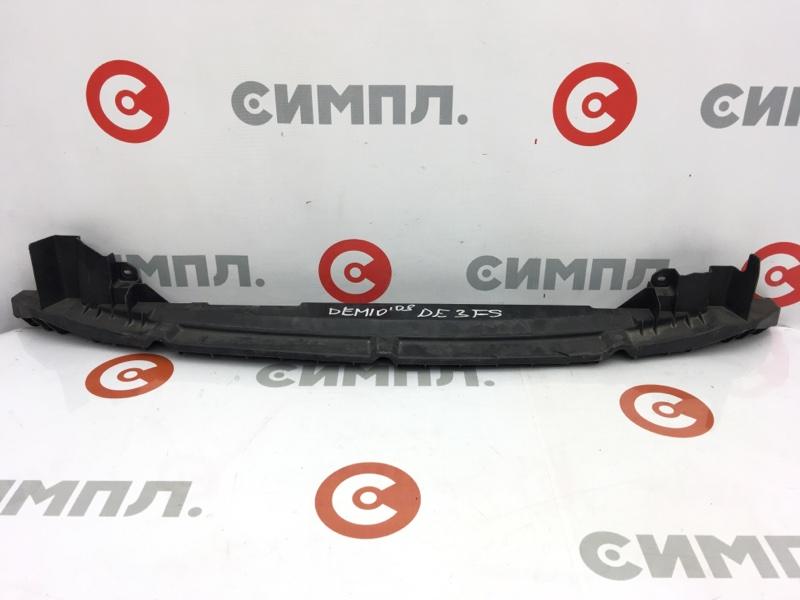 Защита бампера Mazda Demio DE3FS ZJ 2007 передняя нижняя D01N500S1 (б/у)