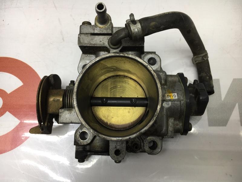 Заслонка дроссельная Honda Accord CF4 F20B 2001 Сломана фишка положения дроссельной (б/у)