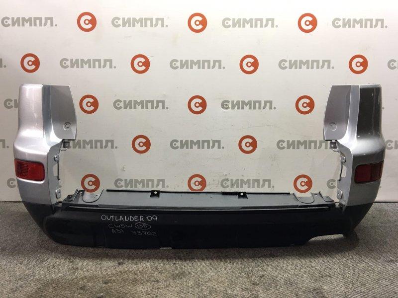Бампер Mitsubishi Outlander CW5W 4B12 2009 задний 73762 (б/у)