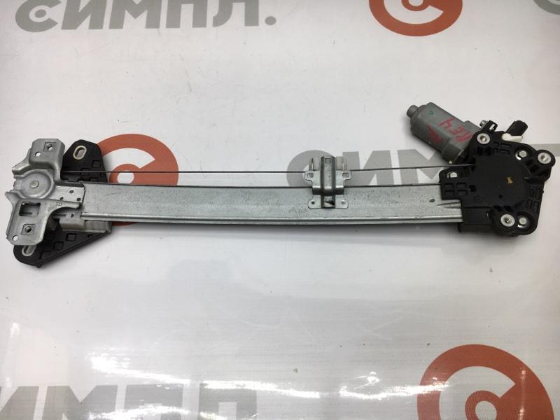 Стеклоподъемный механизм Honda Cr-V RE4 K24A задний левый 70815 (б/у)