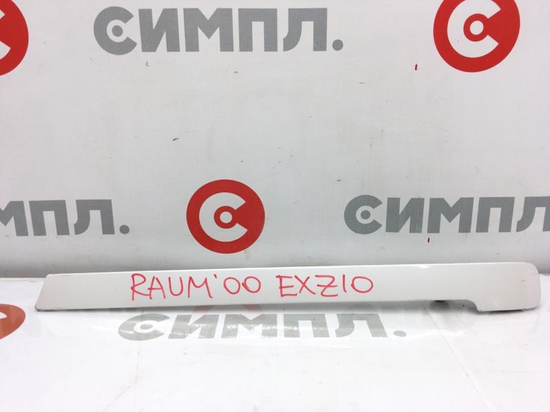 Накладка на крыло Toyota Raum EXZ10 5E 2000 задняя левая Крышка полозьев сдвижной двери. (б/у)
