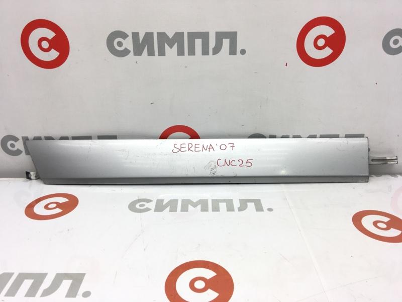 Накладка на крыло Nissan Serena CNC25 MR20DE 2007 задняя правая Крышка полозьев сдвижной двери. (б/у)