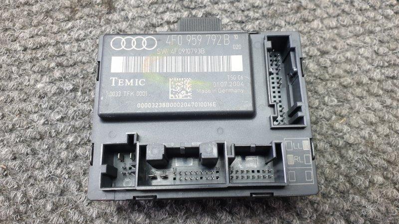 Блок управления дверями Audi A6 4F2 AUK 2004 1 ящик. (б/у)