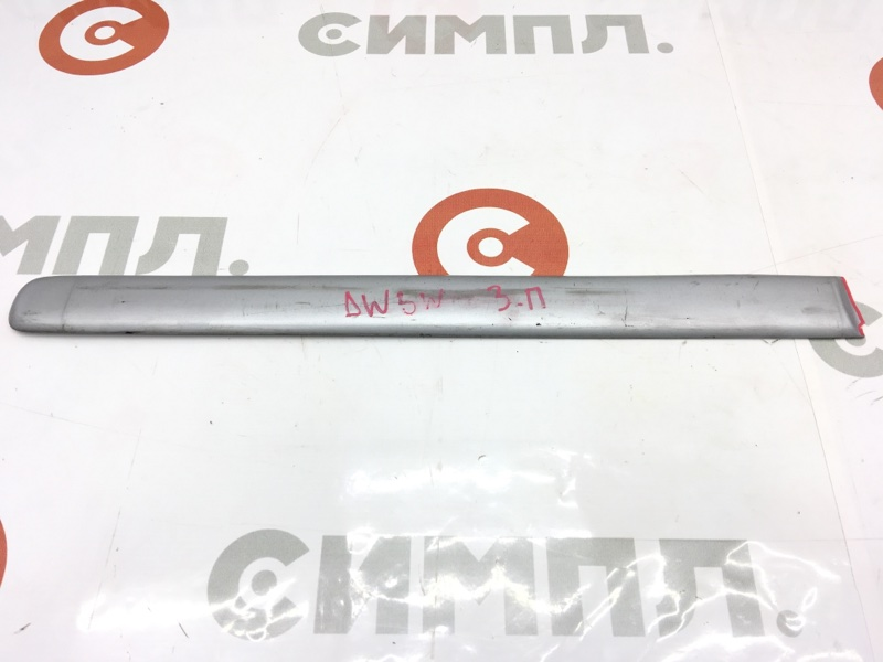 Накладка на дверь Mazda Demio DW3W B3 2002 задняя правая Дефект (см. фото) (б/у)