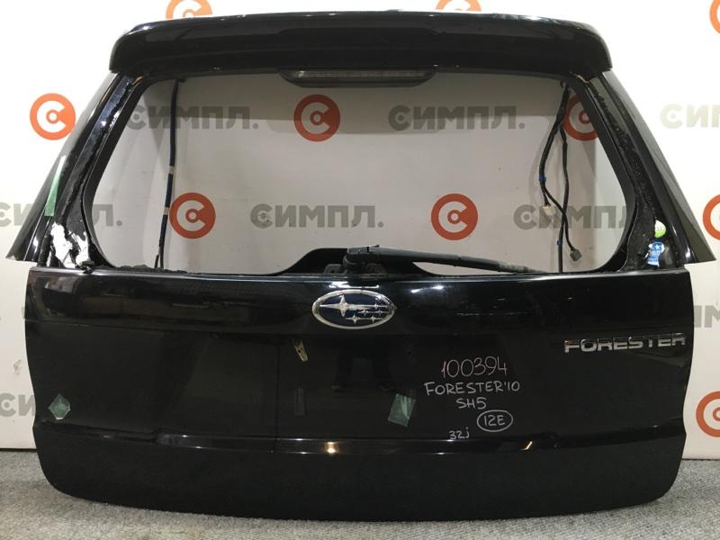 Дверь багажника Subaru Forester SH9 2010 100394 (+14.05.20) С камерой заднего вида. Без стекла. (б/у)