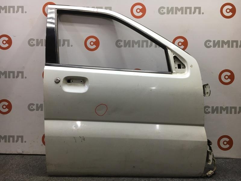 Дверь боковая Suzuki Chevrolet Cruze HR51S M13A передняя правая Снят стеклоподъемник, стекло, (б/у)