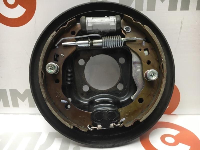 Рабочая тормозная система Toyota Aqua NHP10 1NZ-FXE 2012 задняя левая (б/у)
