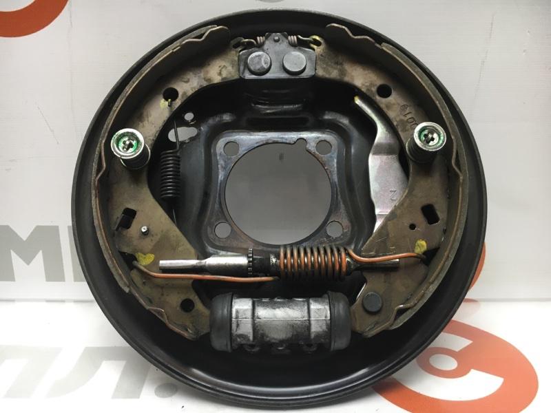 Рабочая тормозная система Toyota Probox NCP51 1NZ 2010 задняя правая В сборе с цилиндром, как  (б/у)