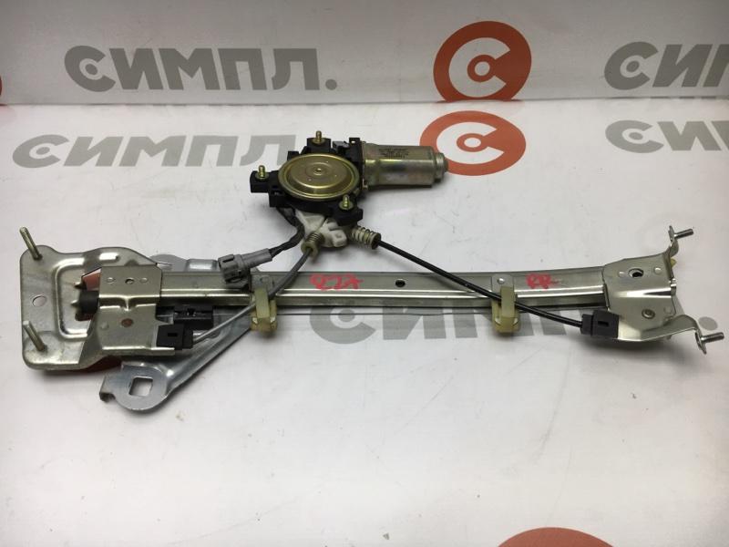 Стеклоподъемный механизм Toyota Chaser GX90 1G 1995 задний правый (б/у)