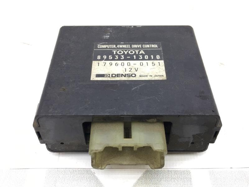 Блок управления Toyota Corolla AE95 4A 1989 179600-0151 50 ящик. Блок управления 4WD. (б/у)