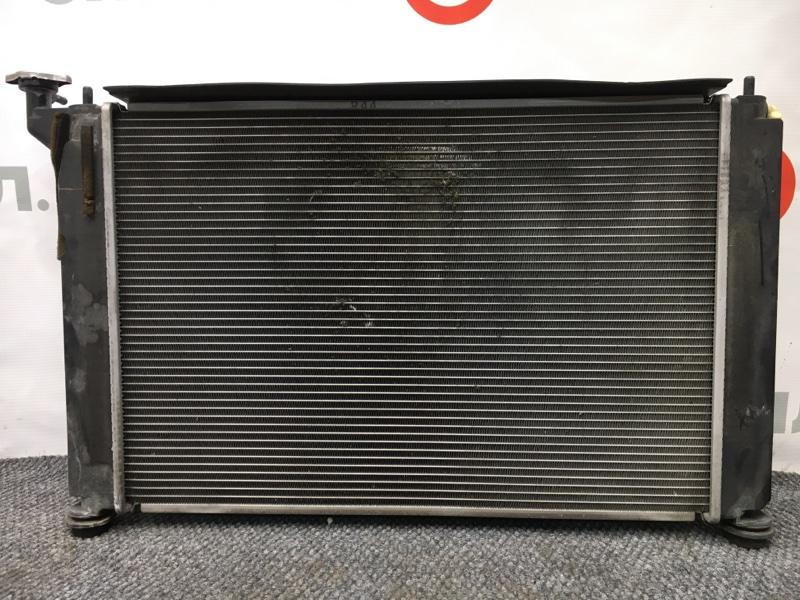 Радиатор охлаждения двигателя Toyota Wish ZNE10 1ZZ 2007 (б/у)