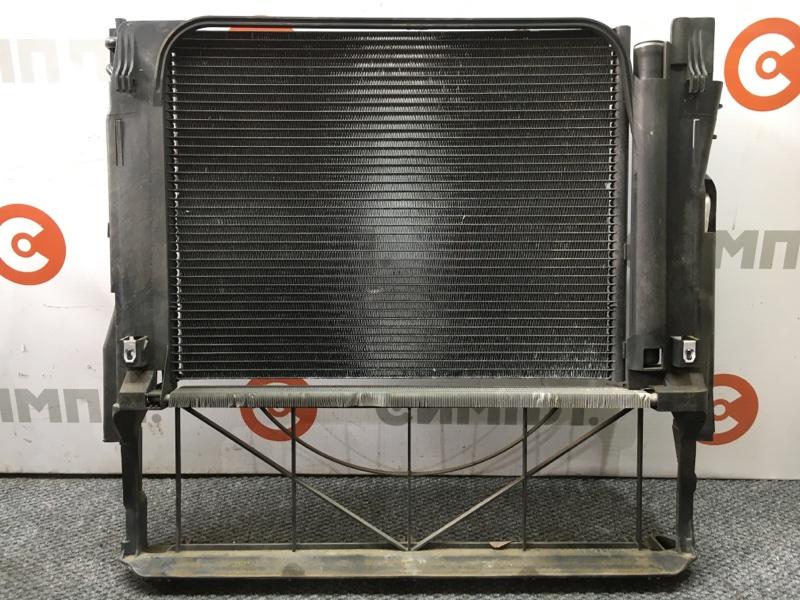 Радиатор кондиционера Bmw X5 E53 N62 2003 501601 Радиатор основной, радиатор (б/у)