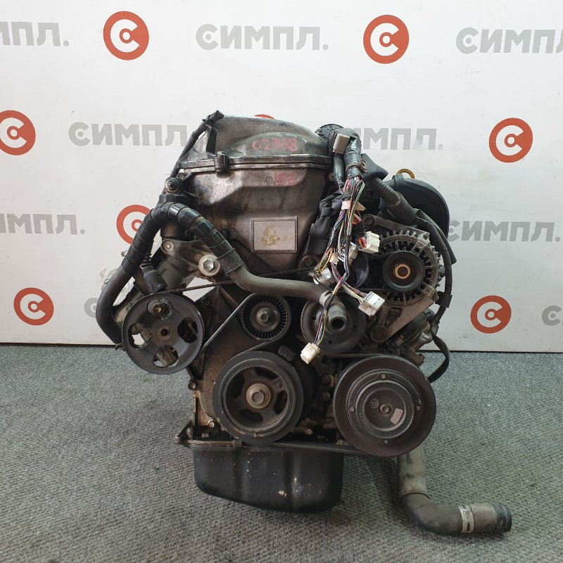 Двигатель Toyota Premio ZZT240 1ZZ 2002 02338 Пробег по Японии - 102000 км. Снят генератор. (б/у)