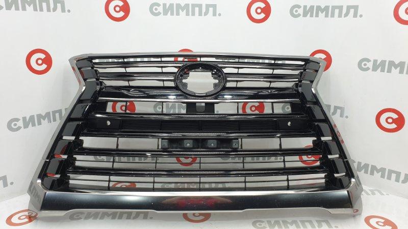 Решетка радиатора Lexus Lx570 URJ201 3UR 2015 Под сонары и камеру. Оригинал, в (б/у)