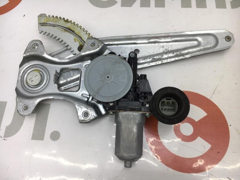 Стеклоподъемный механизм Toyota Passo KGC10 1KR 2006 задний левый (б/у)