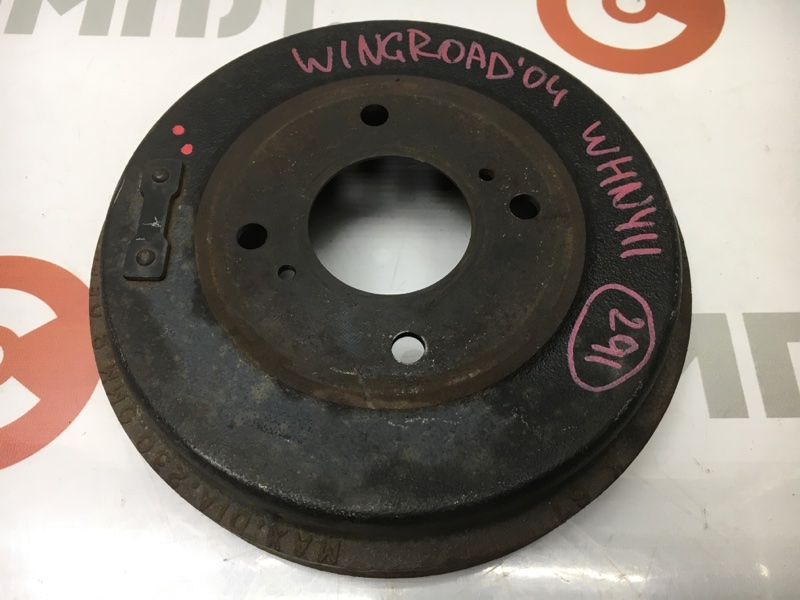 Барабан тормозной Nissan Wingroad WHNY11 QG18 2004 задний правый (б/у)