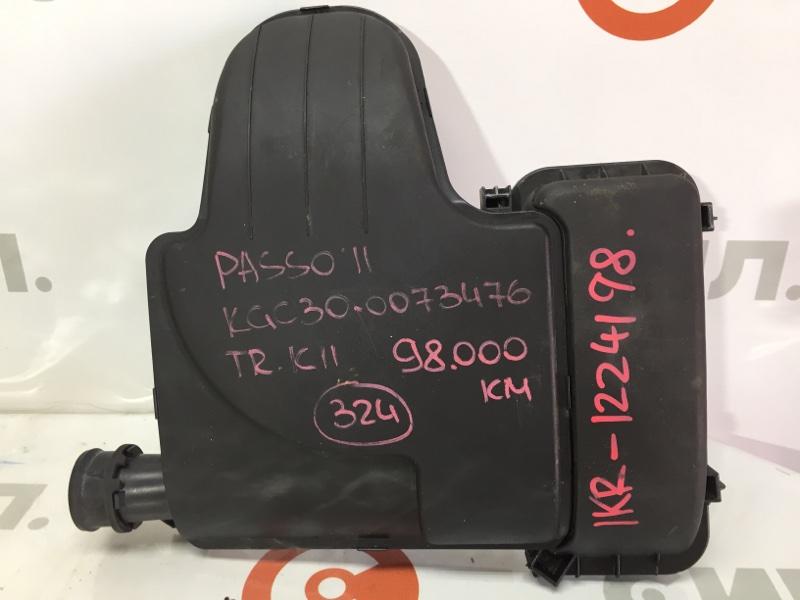 Корпус воздушного фильтра Toyota Passo KGC30 1KR 2011 (б/у)