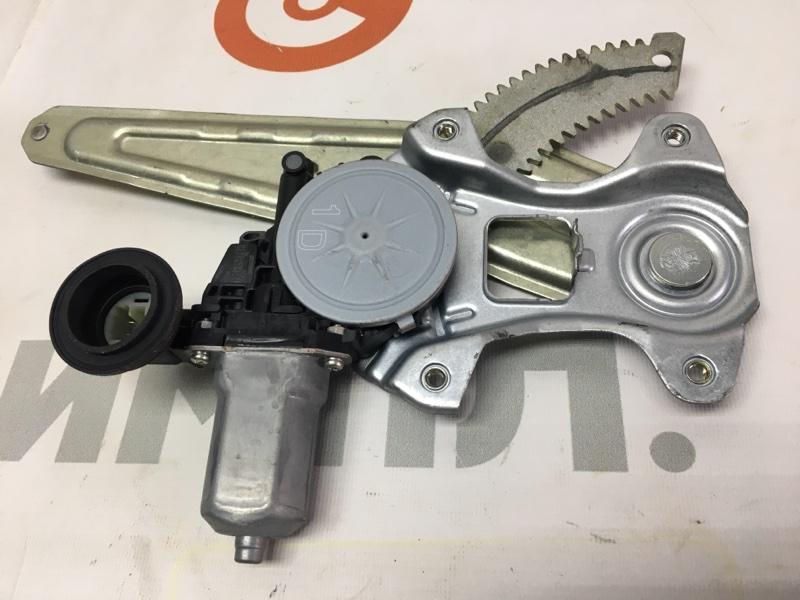 Стеклоподъемный механизм Toyota Passo KGC30 1KR 2011 задний правый (б/у)