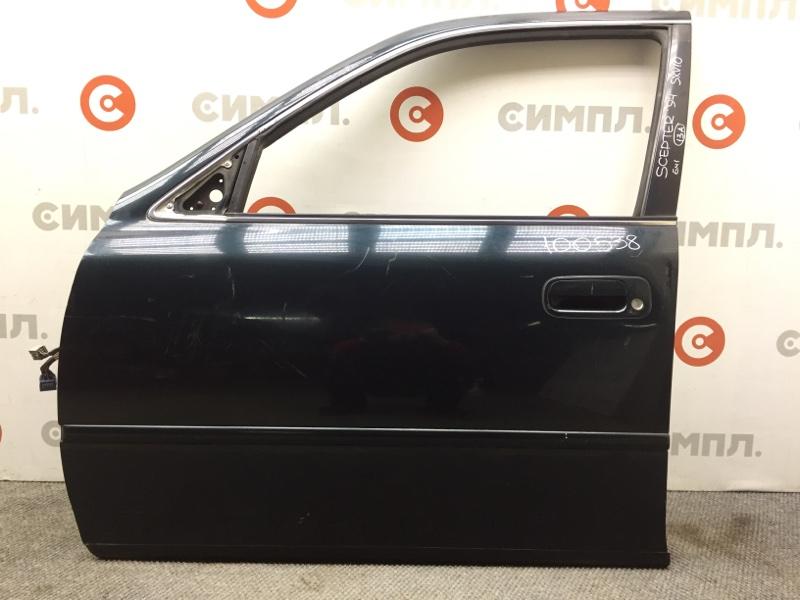 Дверь боковая Toyota Scepter SXV10 5S 1994 передняя левая 100538 (б/у)