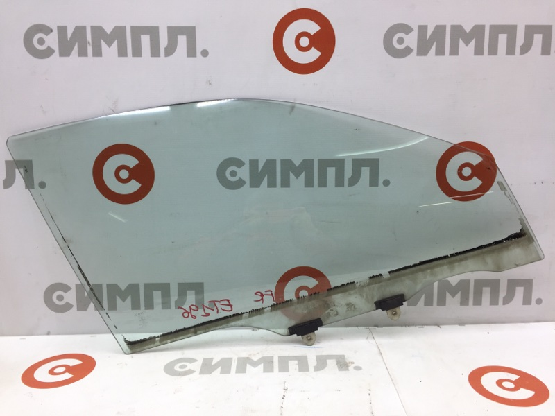 Стекло боковое Toyota Caldina ET196 5E 1997 переднее правое (б/у)