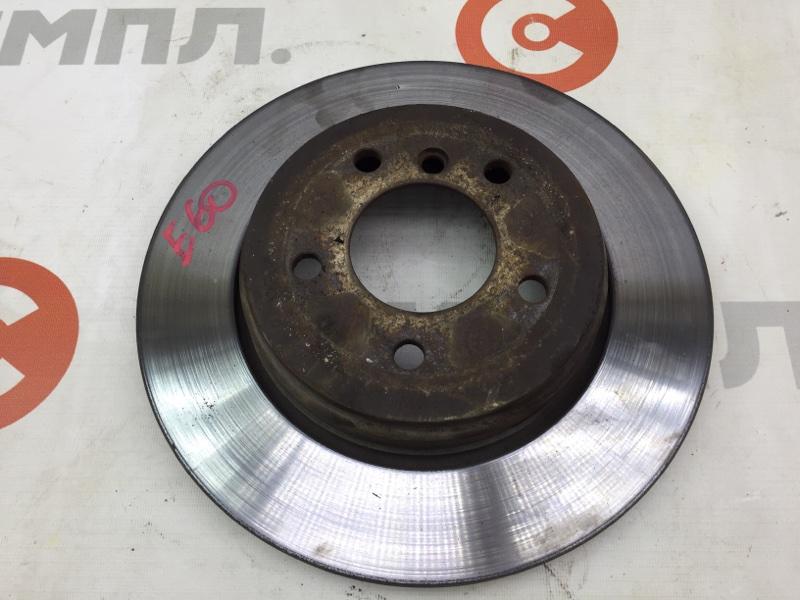 Диск тормозной Bmw 5-Series E60 M54B30 2004 задний (б/у)