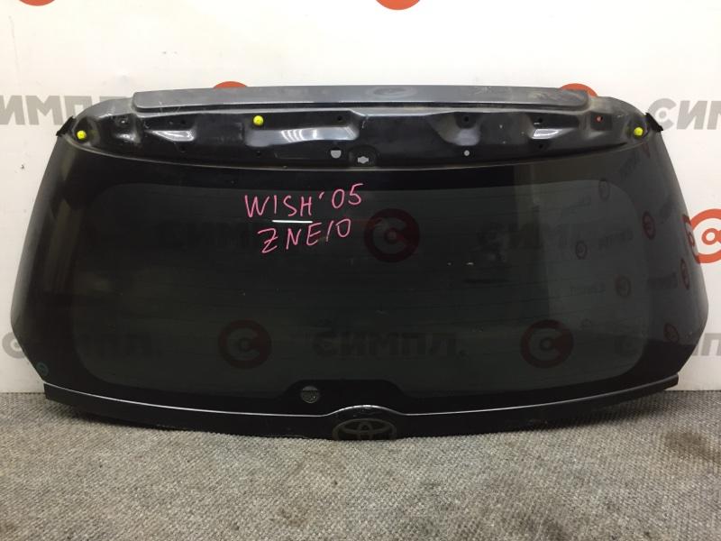 Стекло заднее Toyota Wish ZNE10 2005 (+14.05.20) Стекло двери багажника. (б/у)