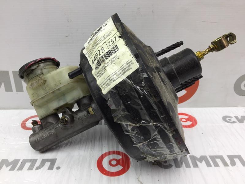 Цилиндр главный тормозной Honda Stepwgn RF2 B20B 2000 ГТЦ + вакуумный усилитель тормозов (б/у)