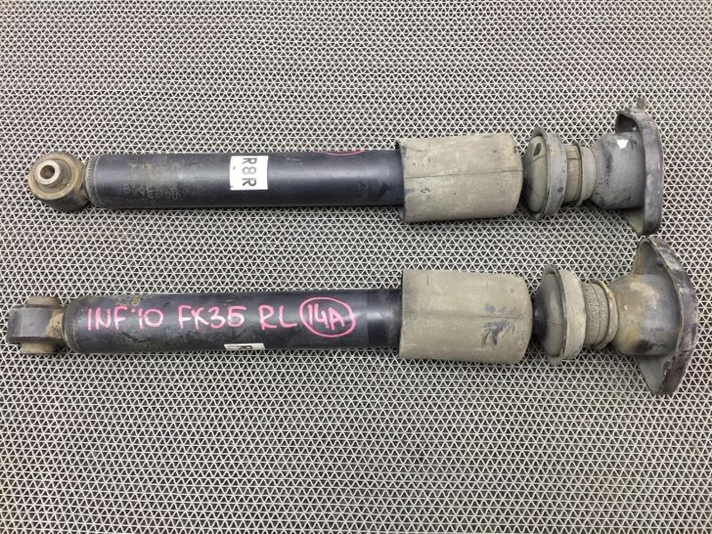 Амортизатор Infiniti Fx35 S50 VQ35 2010 задний Продаются парой. (б/у)