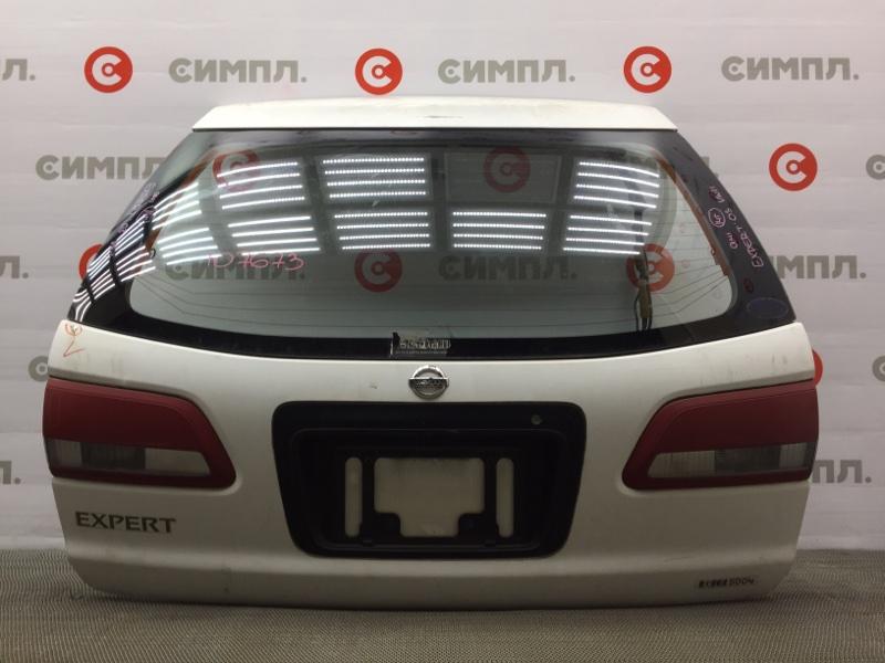 Дверь багажника Nissan Expert VW11 QG18 2003 107673 (б/у)
