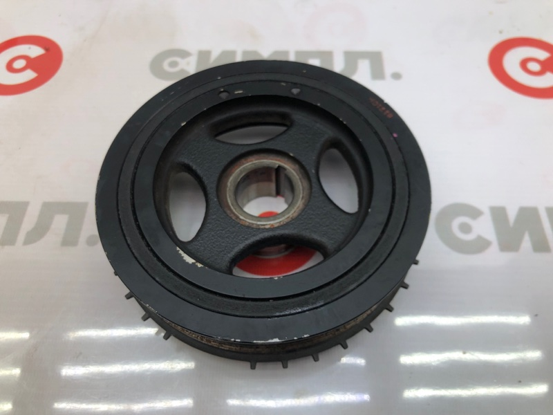 Шкив коленвала Mazda Demio DE3FS ZJ 2009 (б/у)