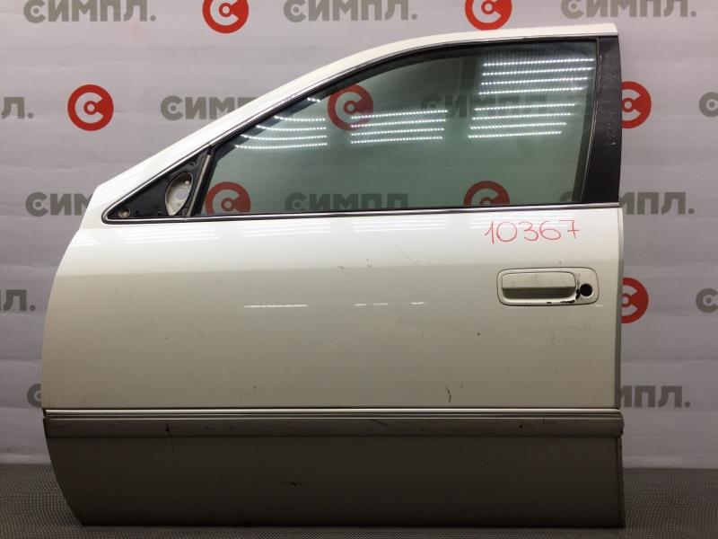 Дверь боковая Toyota Mark Ii Qualis SXV20 1997 передняя левая 10367 (+19.05.20) Снят замок, личинка. Цена  (б/у)