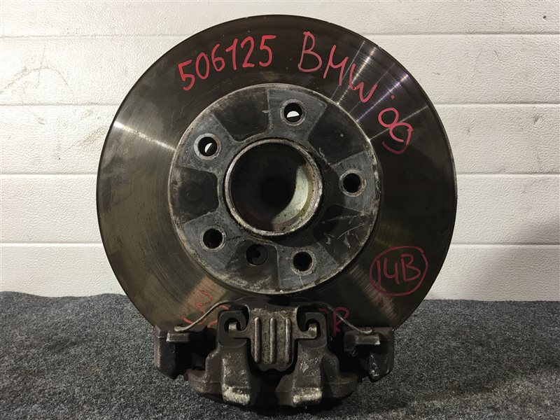 Ступица Bmw 3-Series E90 N52B25A 2009 передняя правая 506125 Цена указана за голую полуступицу. (б/у)
