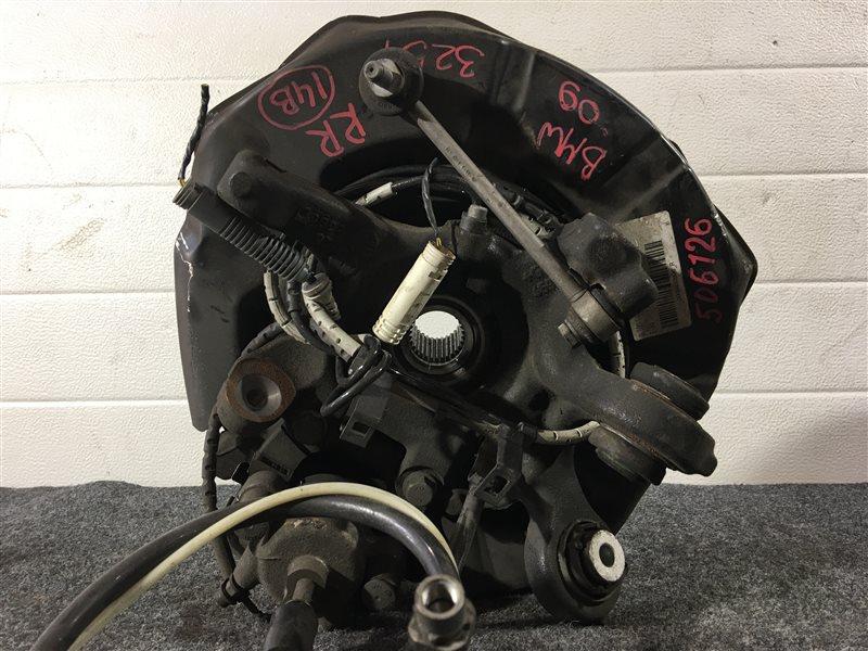 Тросик ручного тормоза Bmw 3-Series E90 N52B25A 2009 задний правый 506126 (б/у)