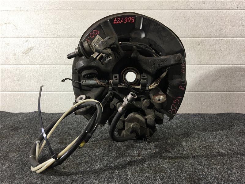 Тросик ручного тормоза Bmw 3-Series E90 N52B25A 2009 задний левый 506127 (б/у)