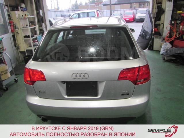 Дверь багажника Audi A4 8ED 2006 73368 (+14.05.20) С камерой заднего вида. Серая. 12Д (б/у)