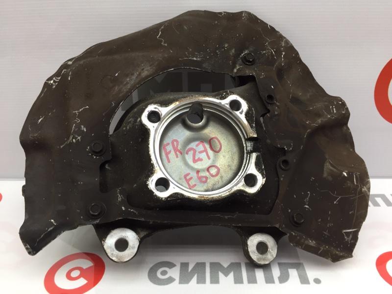 Кулак поворотный Bmw 5-Series E60 M54B30 2004 передний правый (б/у)