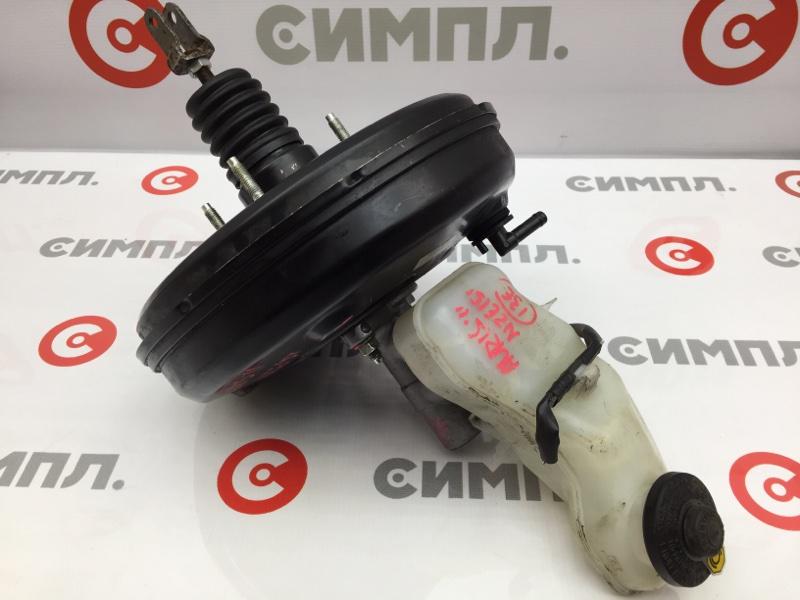Вакуумный усилитель тормозов Toyota Auris NZE151 1NZ 2011 ГТЦ + вакуумный усилитель (б/у)