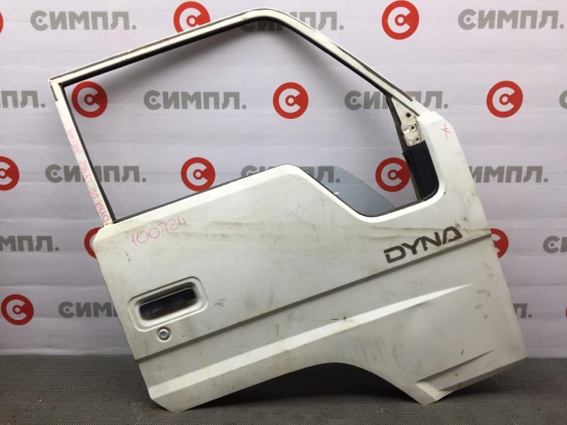 Дверь боковая Toyota Dyna LY162 1999 передняя правая 100724 (+29.04.20) Механический (б/у)