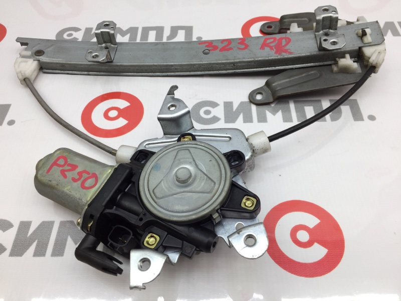 Стеклоподъемный механизм Nissan Murano PZ50 VQ35 2004 задний правый (б/у)