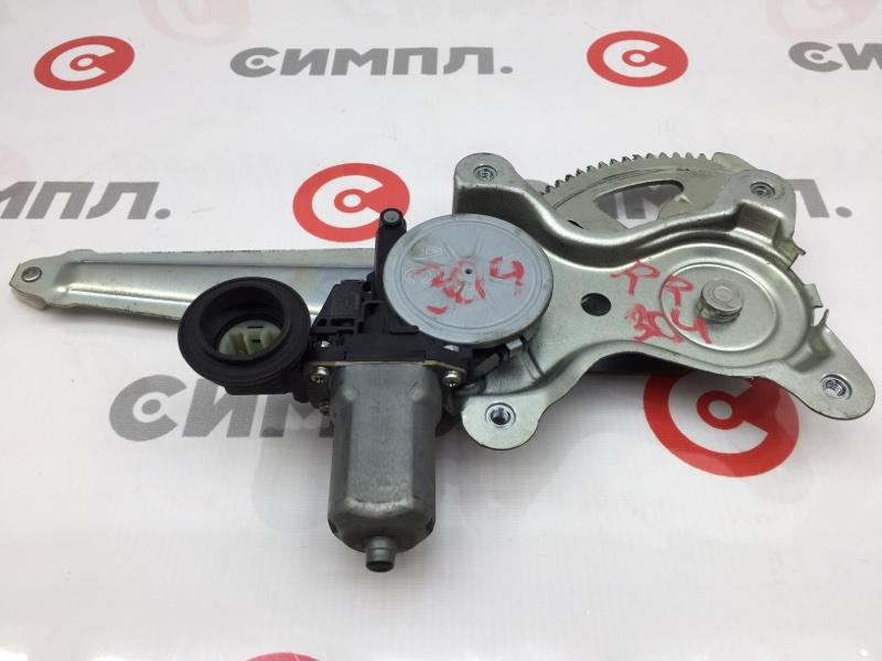 Стеклоподъемный механизм Toyota Aqua NHP10 1NZ-FXE 2012 задний правый (б/у)