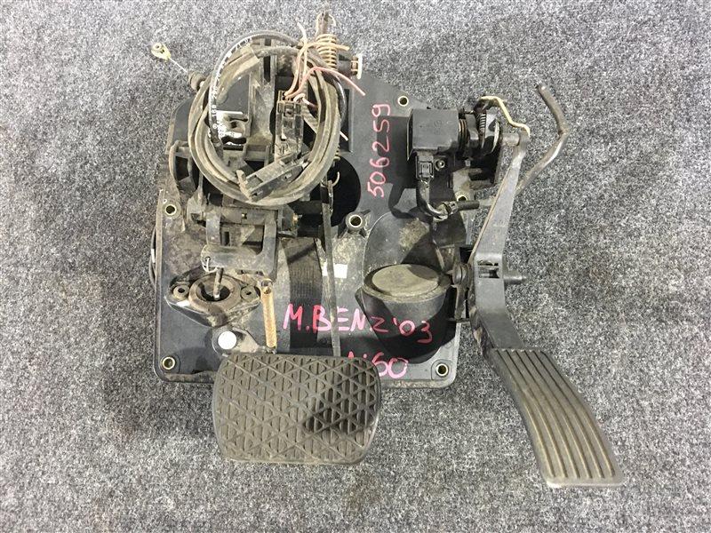 Педаль тормоза Mercedes-Benz A-Class W168 16696030698667 2003 506259 (б/у)