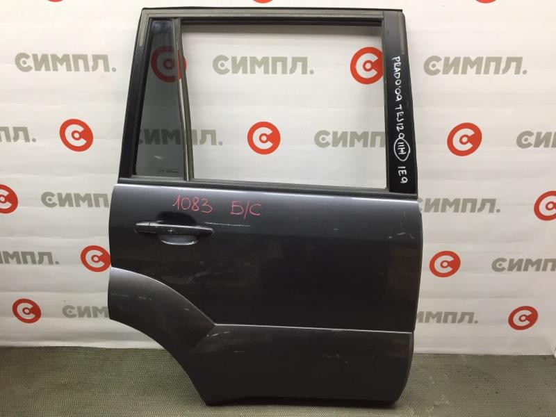 Дверь боковая Toyota Land Cruiser Prado GRJ120 2009 задняя правая 1083 Снято стекло. (б/у)