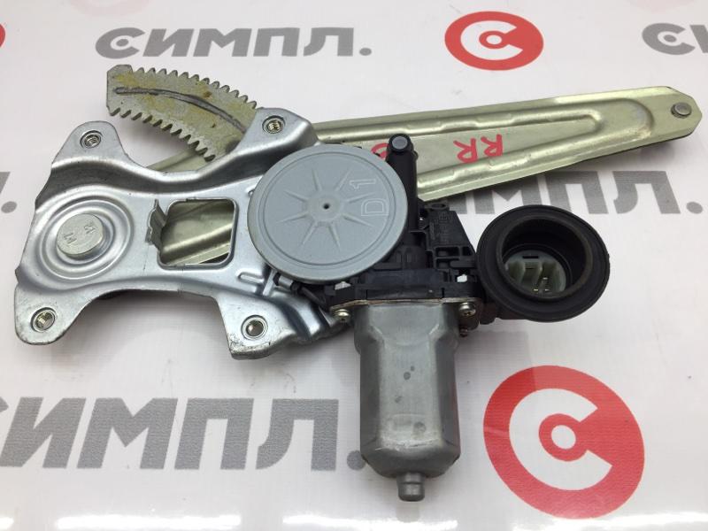 Стеклоподъемный механизм Toyota Passo KGC30 1KR 2011 задний левый (б/у)
