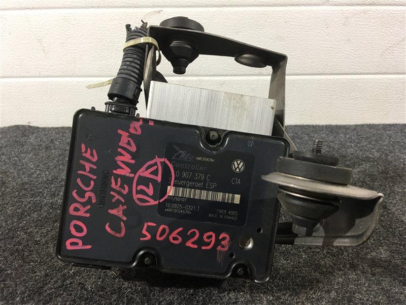 Блок abs Porsche Cayenne 955 M48 0081402781 2004 506293 (б/у)