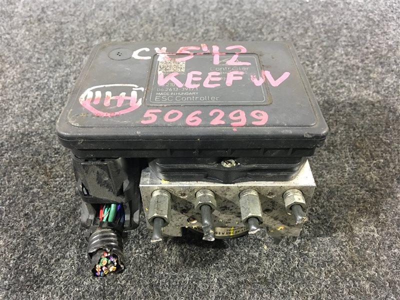Блок abs Mazda Cx-5 KEEFW PE 2012 506299 (б/у)